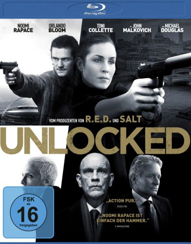 Unlocked Blu-ray Review Cover