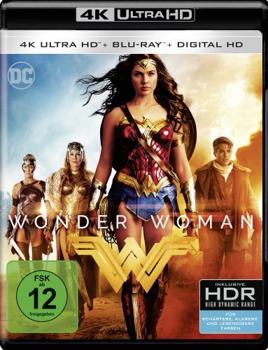 Wonder Woman 4K UHD Blu-ray Review Cover