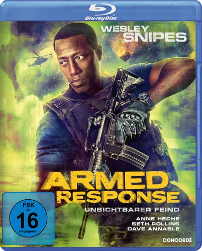 Armed Response - Unsichtbarer Feind Blu-ray Review Cover