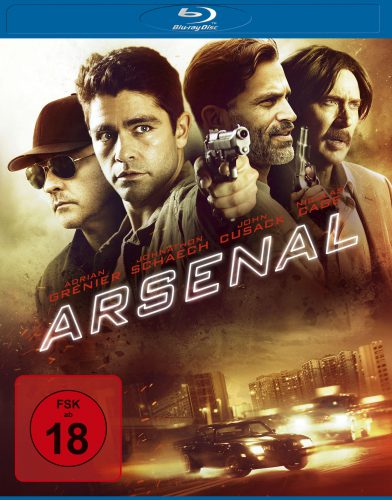 Arsenal Blu-ray Review Cover