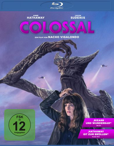 Colossal Blu-ray Review Cover
