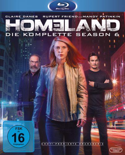 Homeland - die komplette sechste Staffel Blu-ray Review Cover