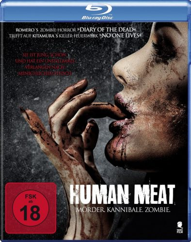 Human Meat - Mörder. Kannibale. Zombie. Blu-ray Review Cover-min