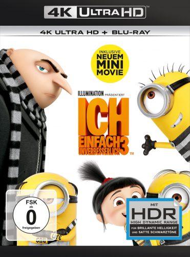 Ich - Einfach unverbesserlich 3 4K UHD Blu-ray Review Cover