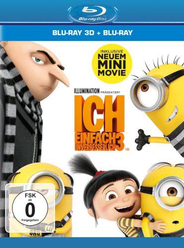 Ich - Einfach unverbesserlich 3 Blu-ray Review Cover