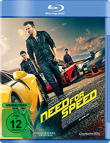 Need for Speed Blu-ray Review Cover