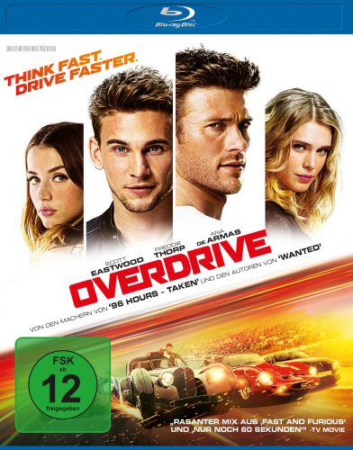 Overdrive Blu-ray Review Cover
