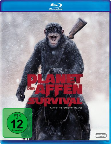 Planet der Affen Survival Blu-ray Review Cover