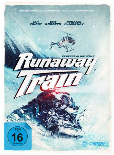 Runaway Train - Express in die Hölle Blu-ray Review MediaBook Cover
