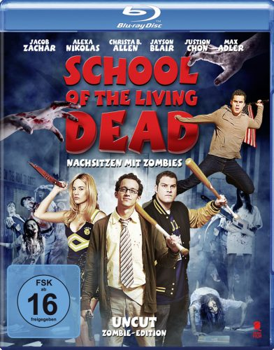School of the Living Dead - Nachsitzen mit Zombies Blu-ray Review Cover