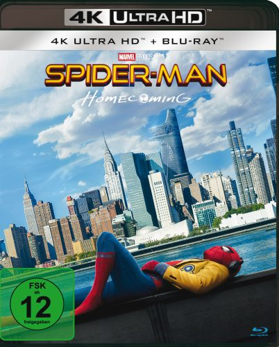 Spider Man Homecoming 4K UHD Blu-ray Review Cover