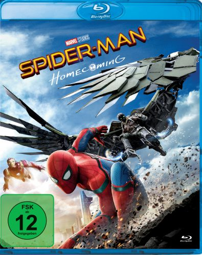 Spider Man Homecoming Blu-ray Review Cover