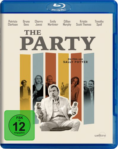 The Party Blu-ray Review Cover
