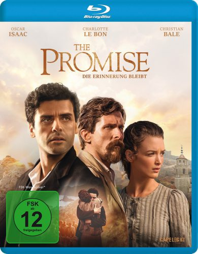 The Promise - Die Erinnerung bleibt Blu-ray Review Cover
