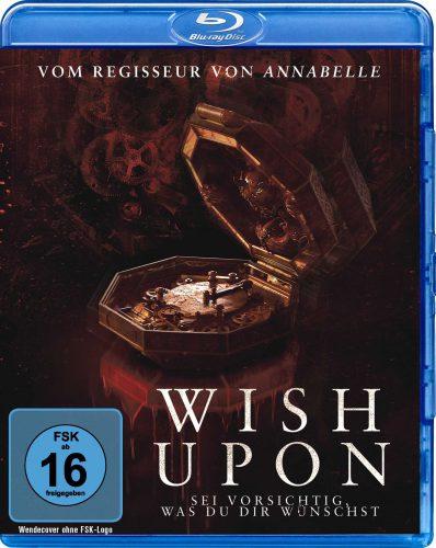 Wish Upon - Sei vorsichtig, was du dir wünschst Blu-ray Review Cover