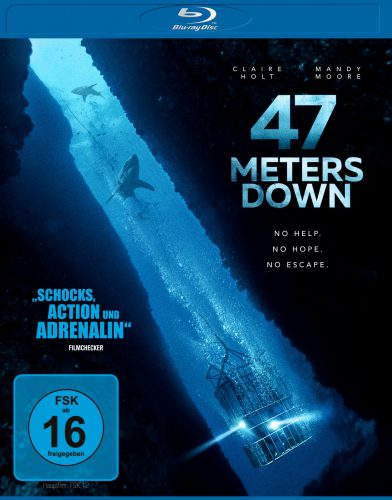 47 Meters Down Blu-ray Review Cover