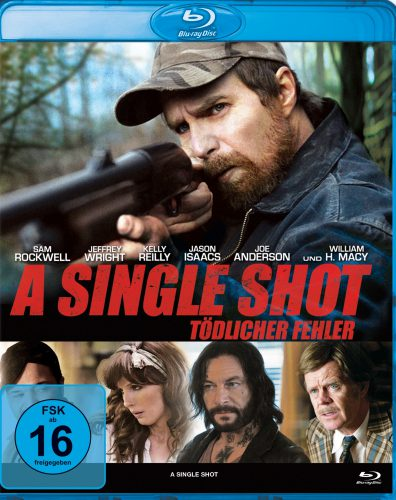 A Single Shot - Tödlicher Fehler Blu-ray Review Cover