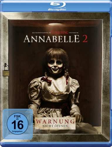 Annabelle - Creation Blu-ray Review Cover