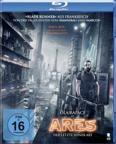 Ares - Der letzte seiner Art Blu-ray Review Cover-min