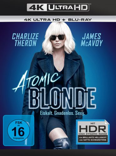 Atomi Blonde 4K UHD Blu-ray Review Cover