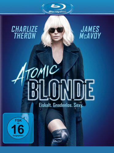 Atomi Blonde Blu-ray Review Cover