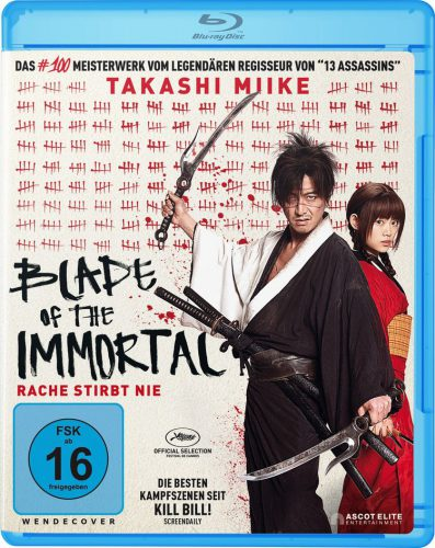 Blade of the Immortal - Rache stirbt nie Blu-ray Review Cover