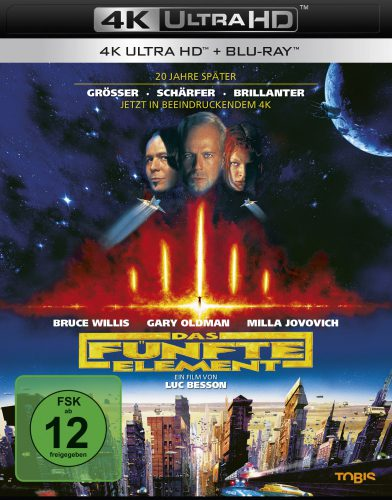 Das fünfte Element 4K UHD Blu-ray Review Cover