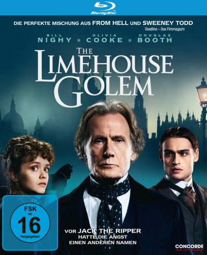 Der Limehouse Golem - Das Monster von London Blu-ray Review Cover