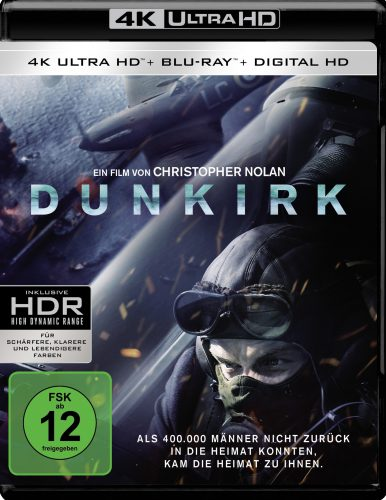 Dunkirk 4K UHD Blu-ray Review Cover