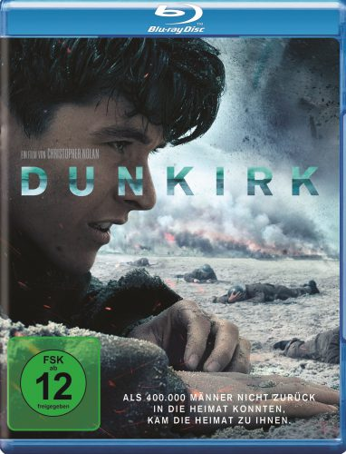 Dunkirk Blu-ray Review Cover