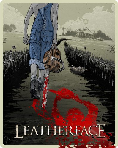 Leatherface Uncut Steelbook Blu-ray Review Cover