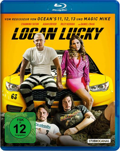 Logan Lucky Blu-ray Review Cover