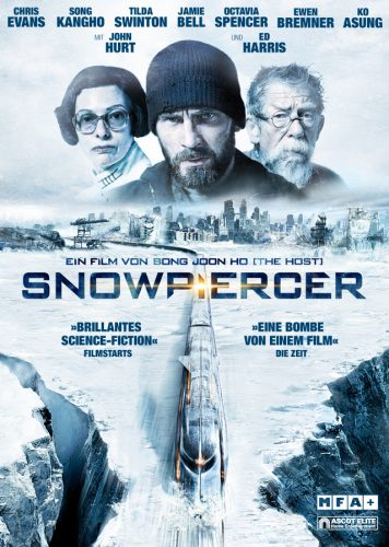Snowpiercer Blu-ray Review Cover