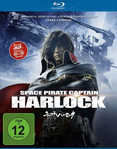 Space Pirate Captain Harlock Blu-ray Review Cover