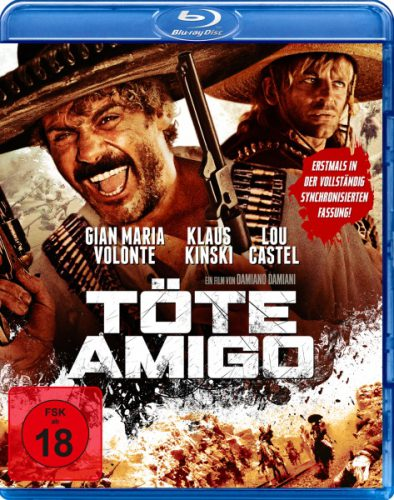 Töte Amigo Blu-ray Review Cover
