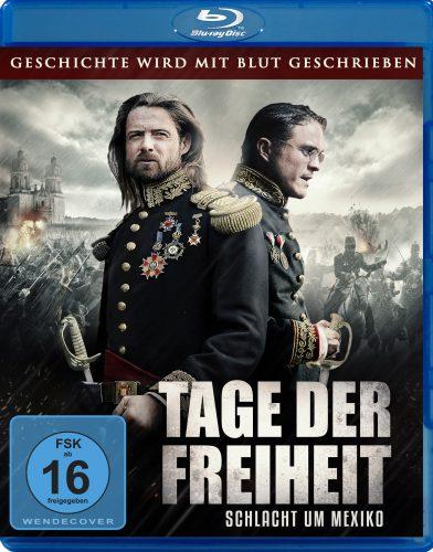 Tage der Freiheit - Schlacht um Mexiko Blu-ray Review Cover