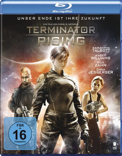 Terminator Rising Blu-ray Review Cover