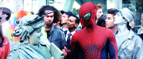 Amazing Spider-Man 2 Rise of Electro BD vs UHD Bildvergleich 2
