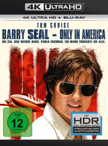 Barry Seal - Only in America 4K UHD Blu-ray Review Cover