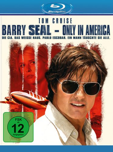 Barry Seal - Only in America Blu-ray Review Cover