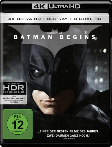 Batman Begins 4K UHD Blu-ray Review Cover