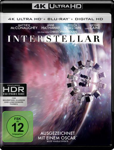 Interstellar 4K UHD Blu-ray Review Cover