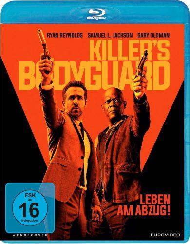 Killer's Bodyguard - Leben am Abzug Blu-ray Review Cover