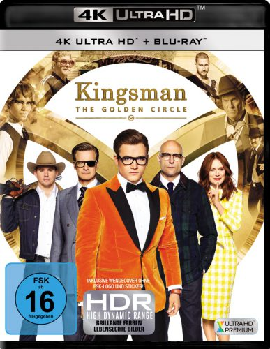 Kingsman The Golden Circle 4K UHD Blu-ray Review Cover