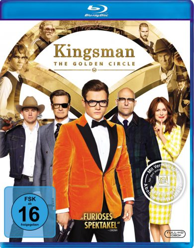 Kingsman The Golden Circle Blu-ray Review Cover
