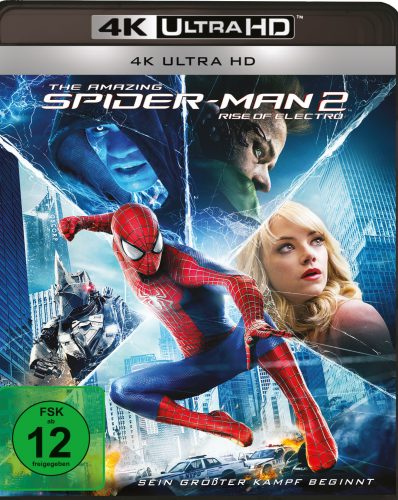 The Amazing Spider-Man 2 Rise of Electro 4K UHD Blu-ray Review Cover