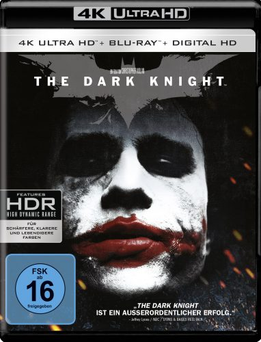 The Dark Knight 4K UHD Blu-ray Review Cover