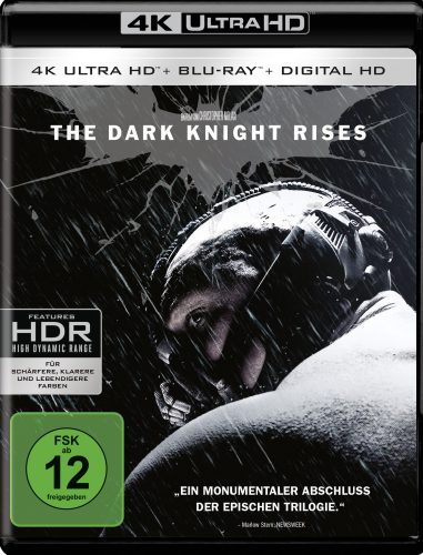 The Dark Knight Rises 4K UHD Blu-ray Review Cover