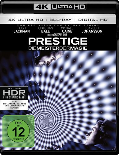 The Prestige 4K UHD Blu-ray Review Cover