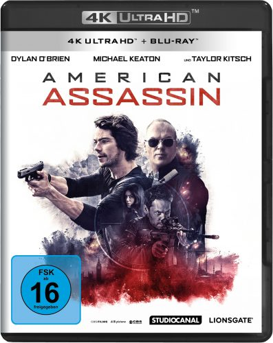 American Assassin 4K UHD Blu-ray Review Cover